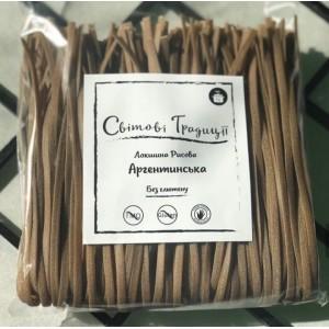"""ТМ «Світові традиції», Лапша рисовая """"Аргентинская"""", 300г"""