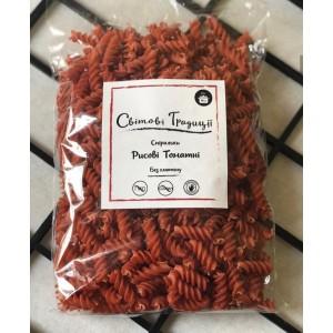 ТМ «Світові традиції», Спіральки рисові томатні, 500г