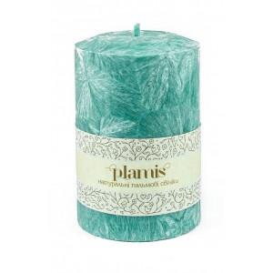 PLAMIS, Свеча из натурального пальмового воска, (высота 100мм, диаметр 67мм)