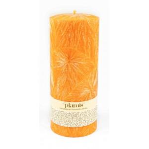 PLAMIS, Свеча из натурального пальмового воска, (высота 180мм, диаметр 76мм)