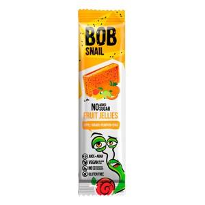 BOB SNAIL Равлик Боб, Натуральний мармелад БЕЗ ЦУКРУ Яблуко-манго-гарбуз-чіа, 38г