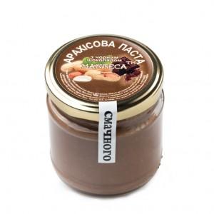 MANTECA, Натуральная арахисовая паста с черным шоколадом, 180г