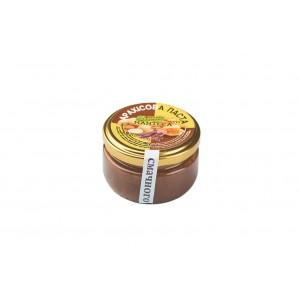 MANTECA, Натуральна арахісова паста з медом і кєробом, 100г