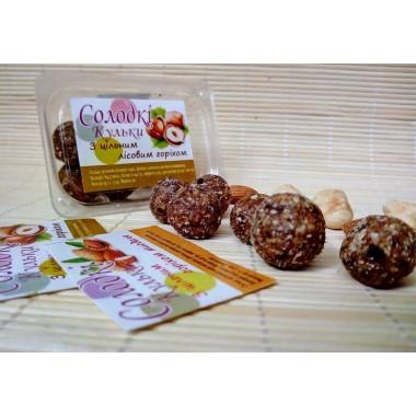 МЕД-ПАСТИЛА, Сладкие шарики с лесным орехом, 50г