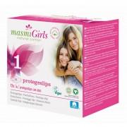 MASMI, прокладки GIRL ультратонкие гигиенические для подростков или для поглощения незначительных выделений, с крылышками, 12 шт.