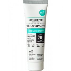 Urtekram, Органическая зубная паста Сильная мята, 75мл