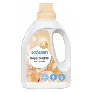 Sodasan, Organic Смягчитель/ополаскиватель тканей Fabric Softener для быстрой глажки, 0,75 л = 19 циклов стирки