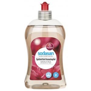 Sodasan, Органическое жидкое средство-концентрат Гранат для мытья посуды Содасан, 500 мл
