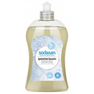 Sodasan, Органическое жидкое средство-концентрат Sensitive для мытья посуды, для чувствительной кожи рук Содасан, 500 мл