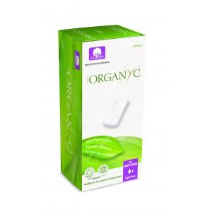 Corman Organyc, Щоденні гігієнічні прокладки товстіший (1 крапелька +) без індивідуальної упаковки, 24 шт.