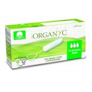Corman Organyc, Тампоны из органического хлопка без аппликатора SUPER для умеренных выделений (3 капельки), 16 шт.