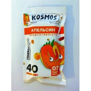 KOSMOS, Натуральный батончик АПЕЛЬСИН продуктивность, 40г