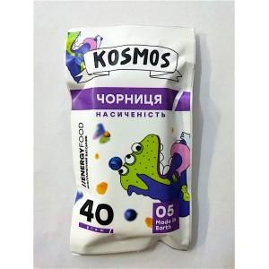 KOSMOS, Натуральный батончик ЧЕРНИКА насыщенность, 40г