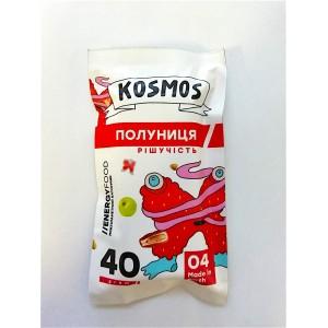 KOSMOS, Натуральный батончик КЛУБНИКА решительность, 40г
