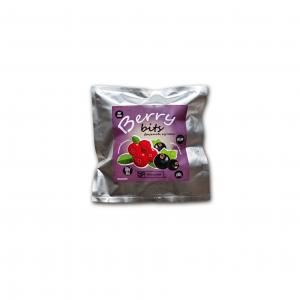 EKO SNACK, Натуральні фруктові кульки з цільної ягодою всередині Berry Bits (Беррі БІТС), 60г