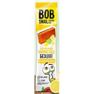 BOB SNAIL Равлик Боб, Натуральний мармелад БЕЗ ЦУКРУ Яблуко-груша-лимон, 38г