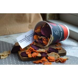 СЕТНО, Овощные дольки из моркови, свеклы и сельдерея. 100г