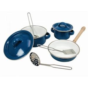 Bino, Набір емальованого посуду, 8 предметів