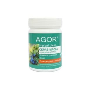 AGOR (АГОР), Скраб-маска для тела Очищение и тонизация, 140 гр