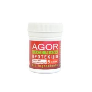 """AGOR (АГОР), полісахаридними маска """"протекцію"""", 8 гр (5 масок)"""