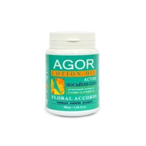 AGOR (АГОР), Лосьйон-масло для стоп і п'ят Floral Accords, 50мл