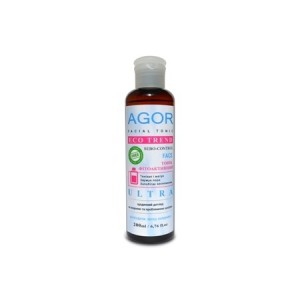 """AGOR (Агор), Фітоактивний тонік """"ULTRA"""" для жирної і проблемної шкіри, 200мл"""