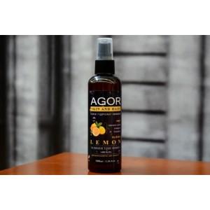 """AGOR (агора), Тонік """"Гідролат лимона"""", 100мл спрей"""