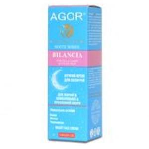 AGOR (АГОР), Крем ночной BILANCIA для жирной и проблемной кожи, 50мл