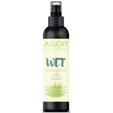 "AGOR (АГОР), Антиоксидантный увлажняющий лосьон ""WET"", 200мл"
