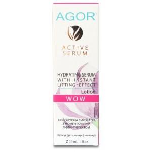 AGOR (агора), Сироватка зволожуюча з ліфтинг-ефектом WOW, 30мл