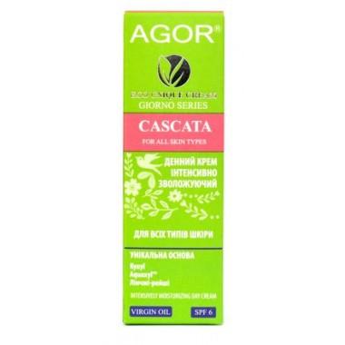 AGOR (АГОР), Крем CASCATA для всех типов кожи с SPF 6, 50мл