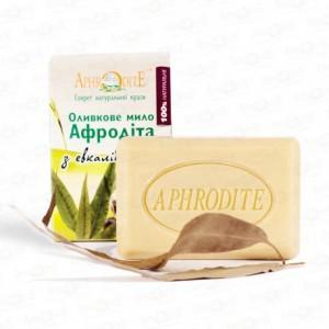 APHRODITE, Натуральне Оливкове мило з евкаліптом, 125г