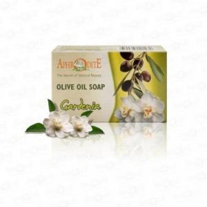 APHRODITE, Натуральне Оливкове мило з гарденії, 125г