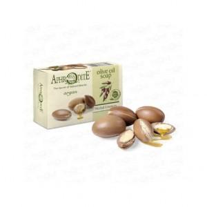 APHRODITE, Натуральное Оливковое мыло с АРГАНОВЫМ МАСЛОМ, 100г