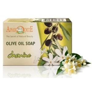 APHRODITE, Натуральное Оливковое мыло с ЖАСМИНОМ, 100г