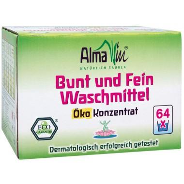 AlmaWin, Органический Концентрированный высокоэффективный стиральный порошок Альмавин, 2 кг = 36 циклов стирки