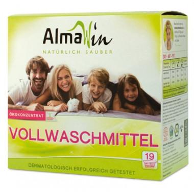 AlmaWin, Органический Концентрированный высокоэффективный стиральный порошок Альмавин, 1,08 кг = 19 циклов стирки