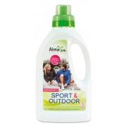AlmaWin, Органическое Концентрированное жидкое средство для стирки Альмавин Sport and Outdoor, 750 мл = 16 циклов стирки