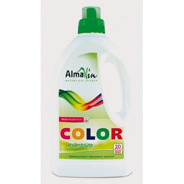 AlmaWin, Органическое концентрированное жидкое средство для стирки Color Almawin, 1500 мл