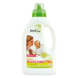 AlmaWin, Органічне Концентрований рідкий засіб для прання Альмавін, 750 мл = 16 циклів прання