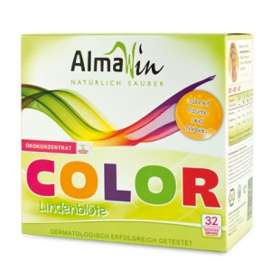 AlmaWin, Органічний Концентрований пральний порошок для всіх типів тканини Альмавін, 2 кг = 64 циклу прання