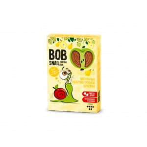 BOB SNAIL Равлик Боб, Натуральные конфетки ЯБЛОЧНО-ГРУШЕВЫЕ, 120г