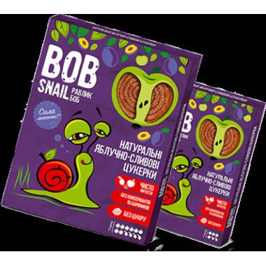 BOB SNAIL Равлик Боб, Натуральні цукерки ЯБЛУЧНО-сливовий, 120г