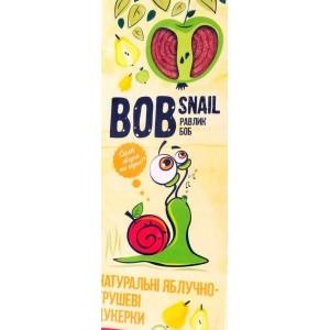 BOB SNAIL Равлик Боб, Натуральные конфетки ЯБЛОЧНО-ГРУШЕВЫЕ, 30г