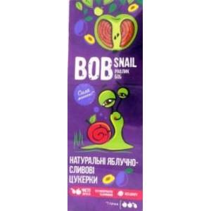 BOB SNAIL Равлик Боб, Натуральные конфетки ЯБЛОЧНО-СЛИВОВЫЕ, 30г