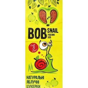 BOB SNAIL Равлик Боб, Натуральные конфетки ЯБЛОЧНЫЕ, 30г