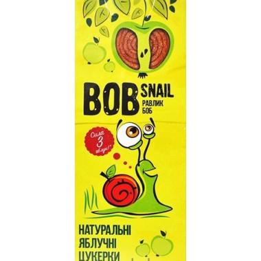 BOB SNAIL Равлик Боб, Натуральні цукерки ЯБЛУЧНІ, 30г