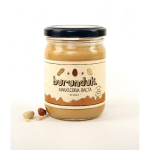 "BURUNDUK, Натуральна арахісова паста ""Класична"", 250гр"