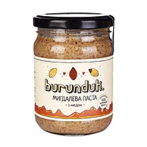 BURUNDUK, Натуральна мигдальна паста, 180гр
