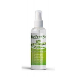 BeFresh, Натуральный дезодорант-спрей для тела с экстрактом цитруса, 100 мл